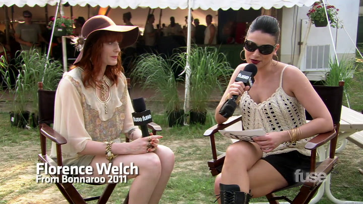 Festivals: Bonnaroo: Watch The Passions Behind The Music of Florence Welch