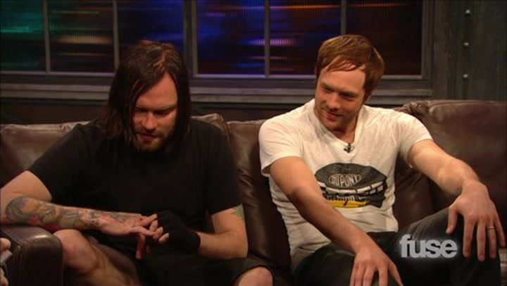 The Used Show Us Their Tats
