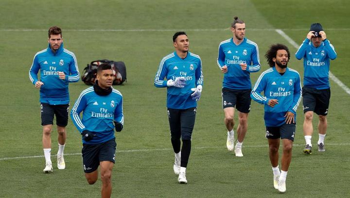 Último entrenamiento del Real Madrid previo al partido contra el Getafe