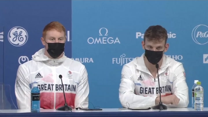 Team GB aim for world record after winning Olympic gold in 4x200m freestyle