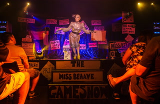 "A night at the ""Miss Behave Gameshow"""