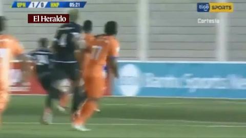 Lobos de UPNFM abre el marcador ante Honduras Progreso 1-0 en Choluteca