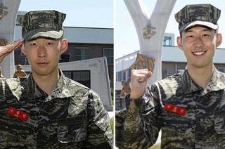 Son, jugador del Tottenham, relata su experiencia en el ejército de Corea del Sur