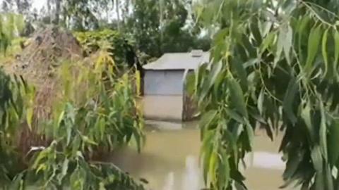Lluvias monzónicas dejan cerca de 200 muertos en sur de Asia