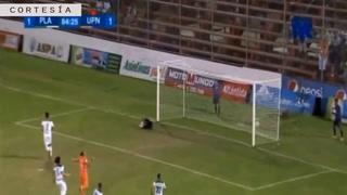 Platense empata el partido ante UPN mediante lanzamiento penal