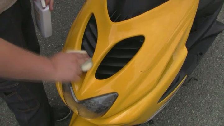 Hvordan vaske moped, scooter og motorsykkel
