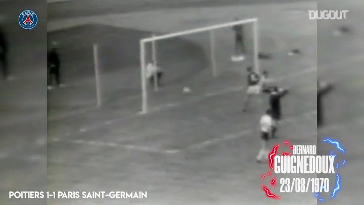 Gols históricos do Paris Saint-Germain