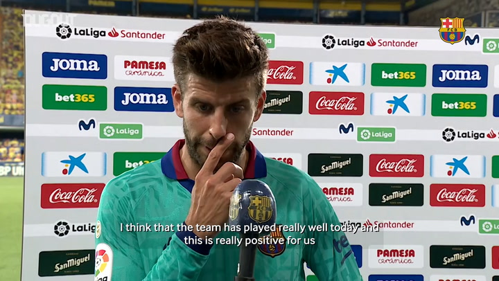 Gerard Piqué: 'We will fight until the end'