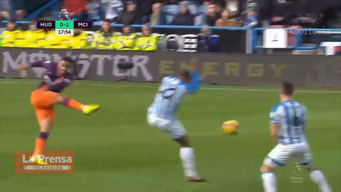 Huddersfield 0-3 Manchester City  (Premier League)