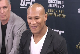 UFC's Jacare: I'm coming to take the belt