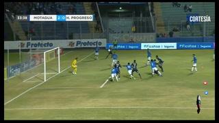 Emilio Izaguirrea narca el 2-0 para Motagua ante  Honduras del Progreso