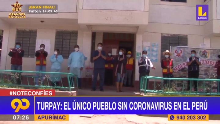 Turpay, el único pueblo peruano que sigue libre del coronavirus
