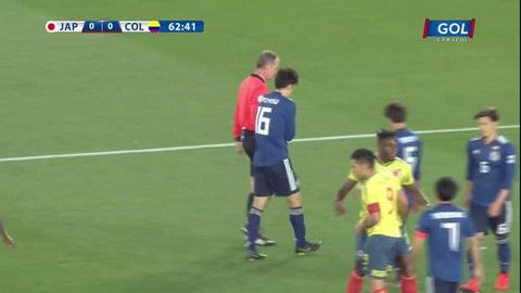 Colombia derrotó 0-1 a Japón en Yokohama