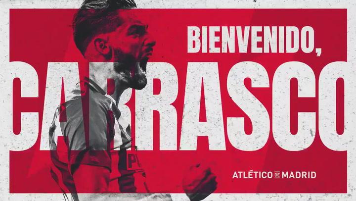 Oficial: Yannick Carrasco, cedido al Atlético de Madrid