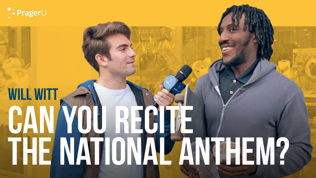 Can You Recite the National Anthem?