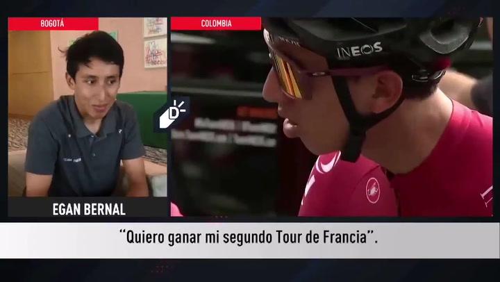 """La ambición de Egan Bernal: """"Quiero ganar Tour, Giro y Vuelta"""""""