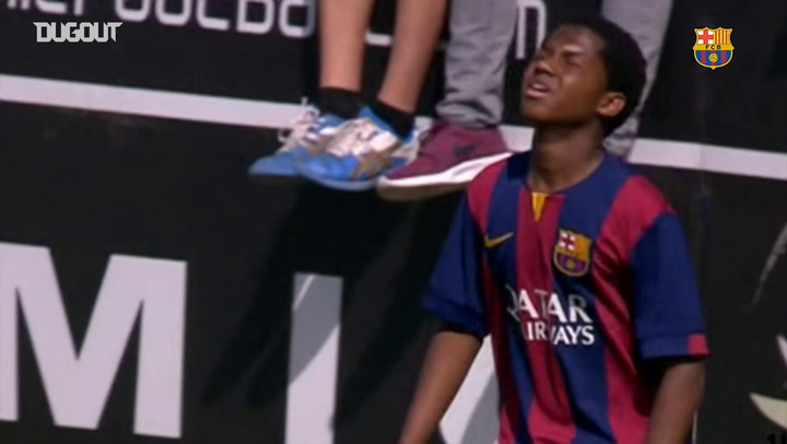 Ansu Fati knows how to score against Real Madrid