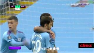 Caño, engache y para dentro: Espectacular gol de Gabriel Jesus con Manchester City