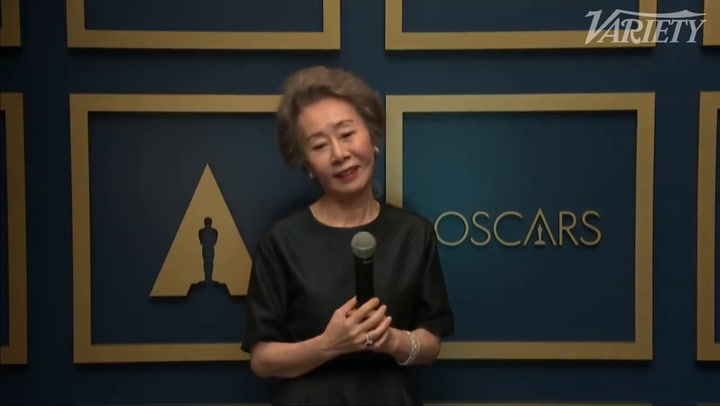 Supporting Actress - Yuh-jung Youn Backstage Interview