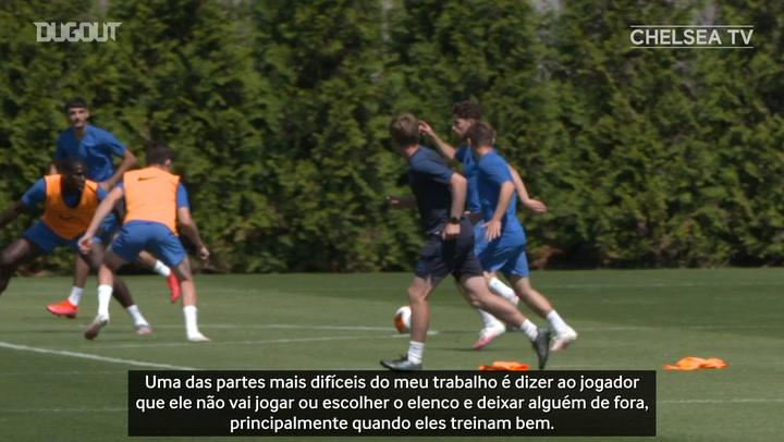 """Lampard elogia postura de Jorginho no Chelsea: """"muito profissional"""""""