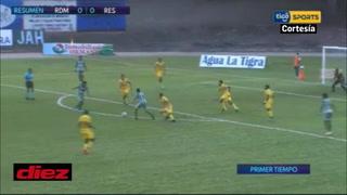 Real de Minas y Real España no abren el marcador en el Marcelo Tinoco de Danlí