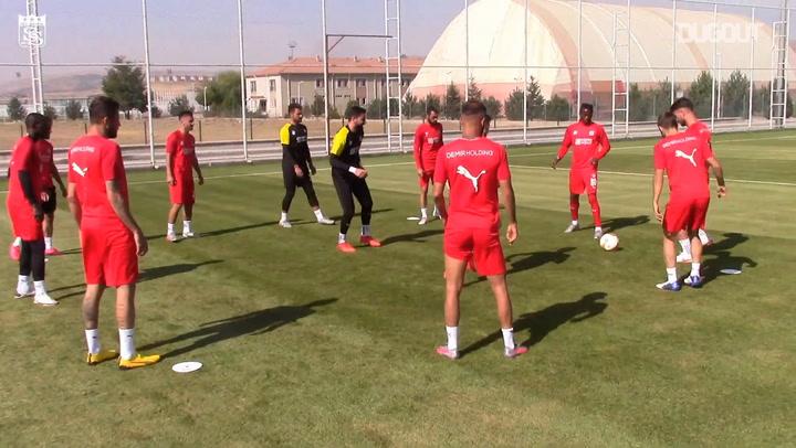 Sivasspor'un Villarreal Hazırlıkları
