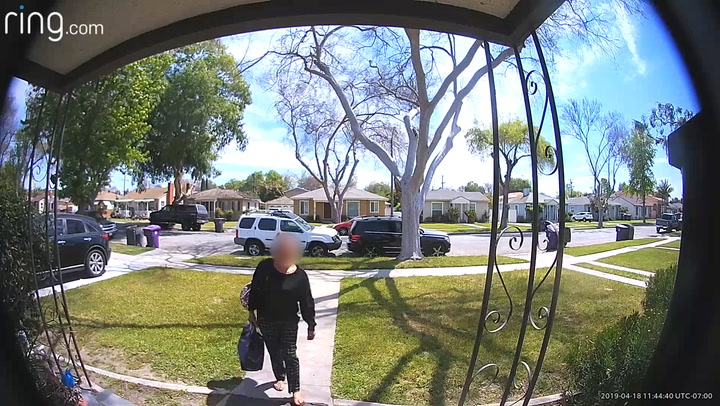 Woman Catches A Porch Pirate Red-Handed And Tears Her A New One
