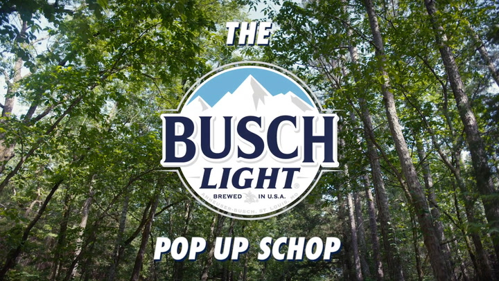Busch Is Hiding a Pop-Up Bar 'Miles Away From Civilization