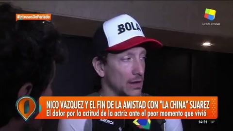 Nico Vázquez reveló por qué se peleó con la China Suárez