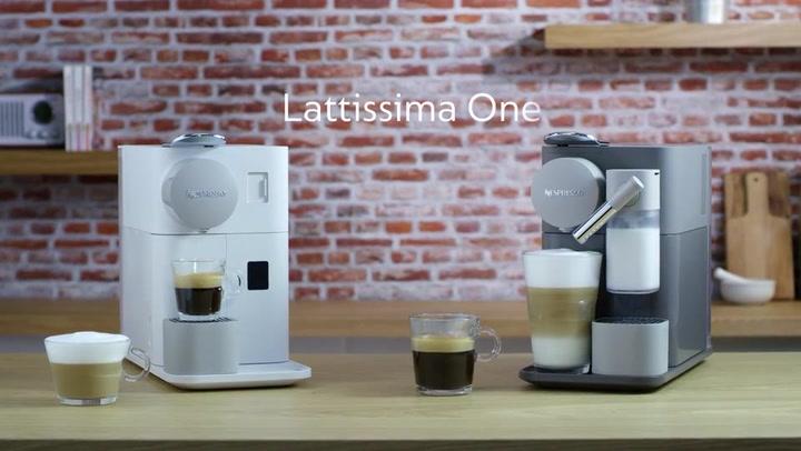 Preview image of Nespresso Lattissima One Automatic Espresso Machin video