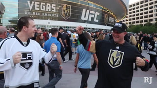 Vegas Golden Knights fans storm T-Mobile Arena for first preseason game