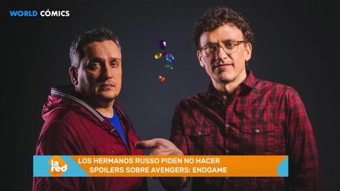 Los hermanos Russo piden no hacer spoilers sobre Avengers: Endgame