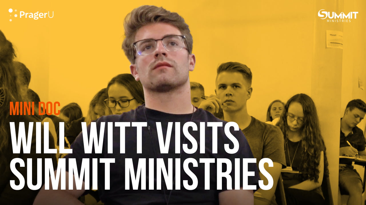 Will Witt Visits Summit Ministries