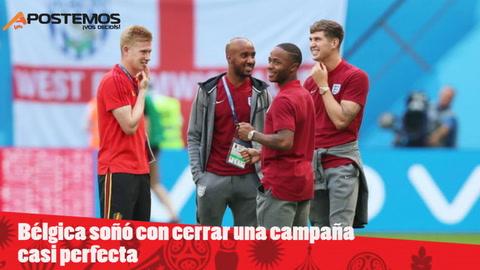 EHmojicrónica: Bélgica vence a Inglaterra y es tercera de Rusia 2018
