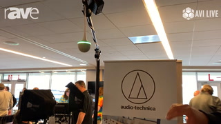 AVI LIVE: Audio-Technica Shows ES954 Ceiling Microphone, ATDM-0604 Smart Mixer for Conference Rooms