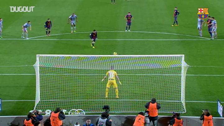 Leo Messi's 200th LaLiga Goal