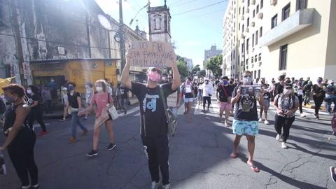 Muerte de un niño genera protesta antirracista en noreste de Brasil