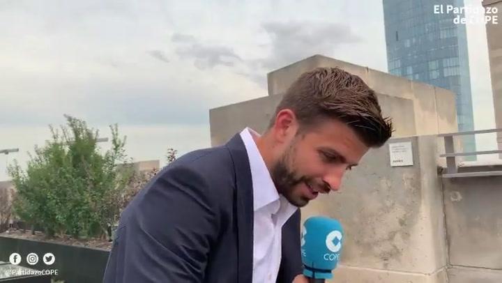 "Piqué ""Invitaré a Florentino Pérez a la Copa Davis"""