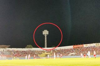 ¡Otro apagón en el estadio Ceibeño cuando se disputaba el juego Vida-Olimpia!