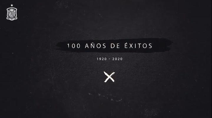 La selección celebra sus 100 años de historia
