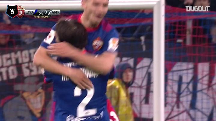 Lo mejor de Mário Fernandes en el CSKA Moscú