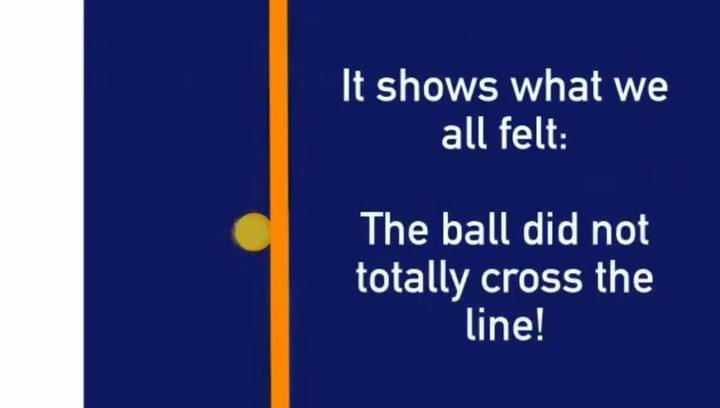 Un video que circula por la red asegura que el balón no entró en el 2-0