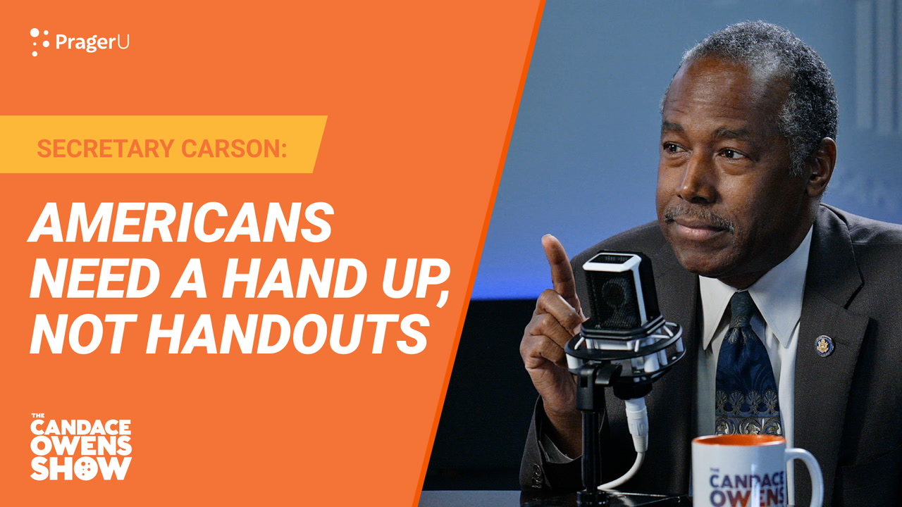 Americans Need A Hand Up, Not Handouts