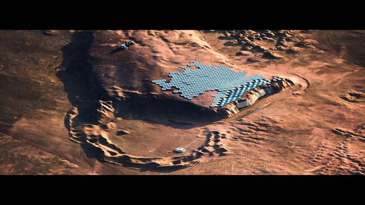 Proyecto español para la construcción de una ciudad para un milllón de habitantes en Marte