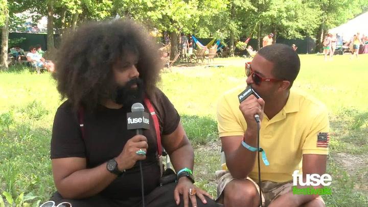 "Festivals: Bonnaroo 2013: Reggie Watts Praises Netflix: ""That's My Sh-t!"""