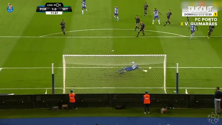 Zé Luís' FC Porto goals in 2019-20 So Far