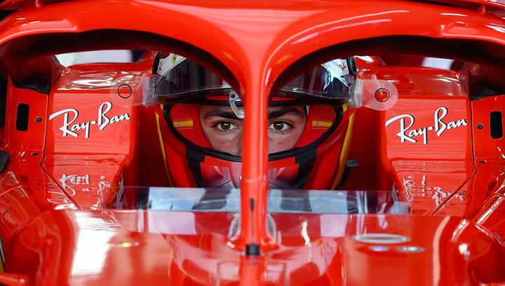 Así ha sido el debut de Carlos Sainz con Ferrari en Fiorano