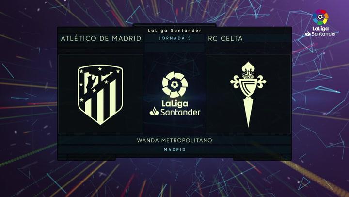 LaLiga (J5): Resumen y goles del Atlético de Madrid 0-0 RC Celta