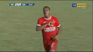 Jeisson Mejía anota el 1 - 2 de Real Sociedad ante Honduras Progreso