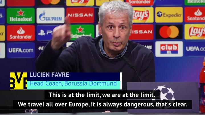 'Dangerous' to keep playing football across Europe - Favre